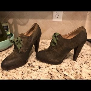 Frye Shoes - Beautiful distressed Frye heels! Great condition!